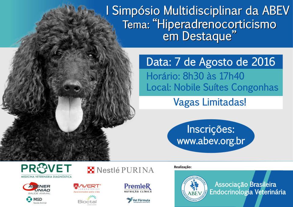 simposio abev endocrinologia veterinaria hiperadrenocorticismo